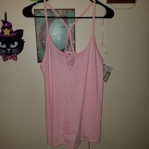 S pink old navy tank nwt